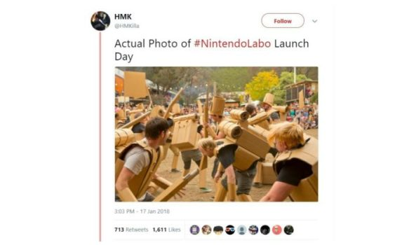 Nintendo Labo Launch Day