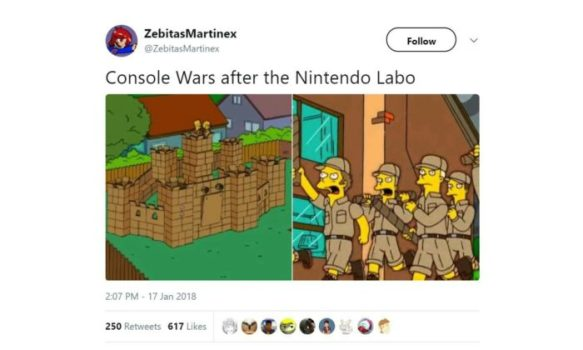 Console Wars 2018