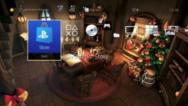Santa Hide N' Seek Dynamic Theme