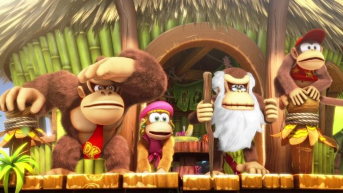 Donkey Kong Country Tropical Freeze, relaxing