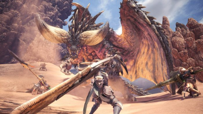 Monster Hunter: World, Shadow of the Colossus