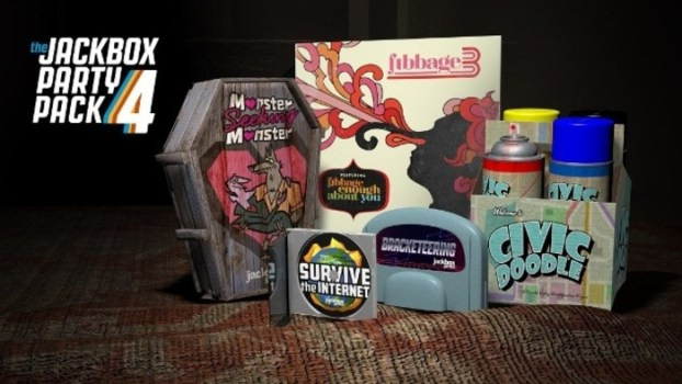 Jackbox Party Packs 1-4