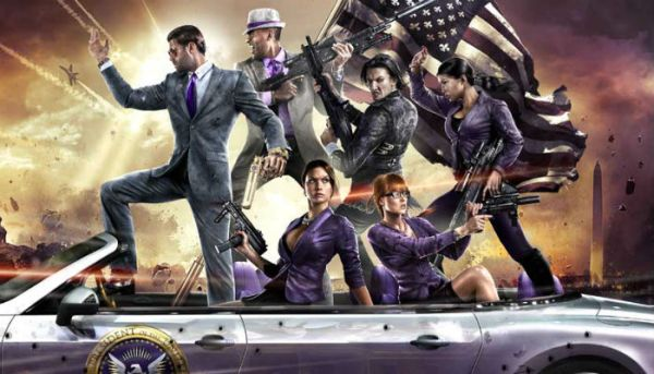 saints row 4 funniest games