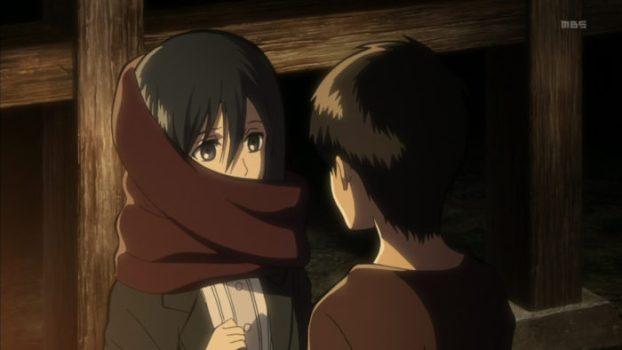 Eren and Mikasa - Attack on Titan