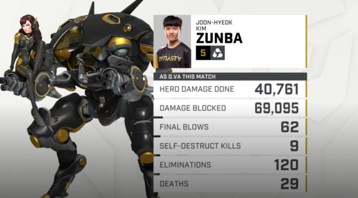 zunba, d.va, overwatch league, overwatch