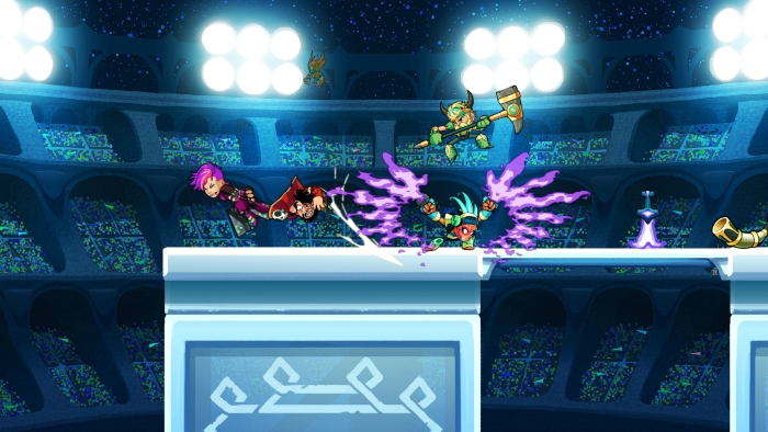 Brawlhalla ,Blue Mammoth Games,育碧