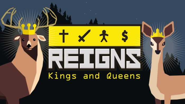 Image result for reigns kings and queens switch