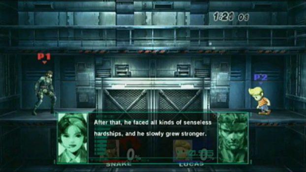 Super Smash Bros. Brawl - Snake's Codec Conversations