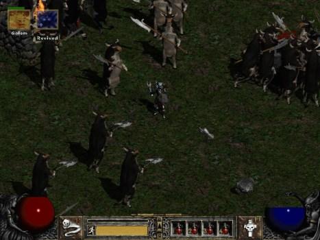 Diablo II – Secret Cow Level