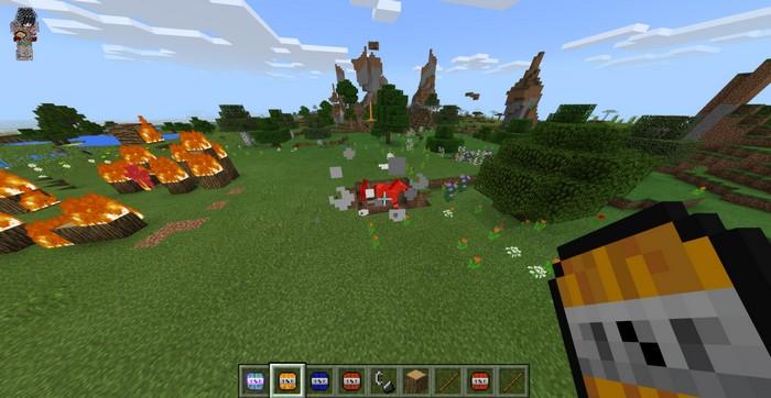 explosives, minecraft, minecraft PE