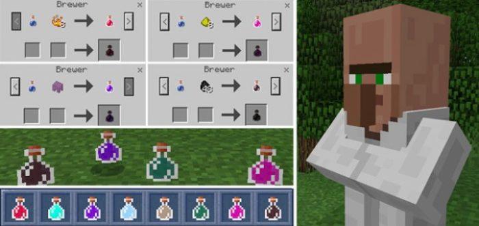 minecraft, potions, minecraft PE