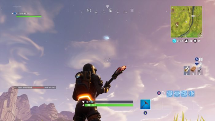 fortnite, tilted towers, comet