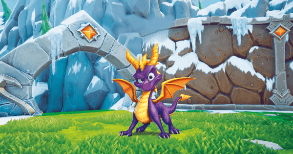 Spyro the Green Dragon?