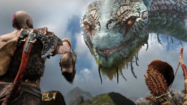 best games 2018, god of war