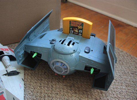 Darth Vader's TIE Advanced Nintendo 64