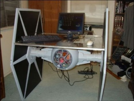 TIE Fighter PC and Desk Combo