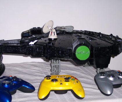 Black Millenium Falcon Xbox