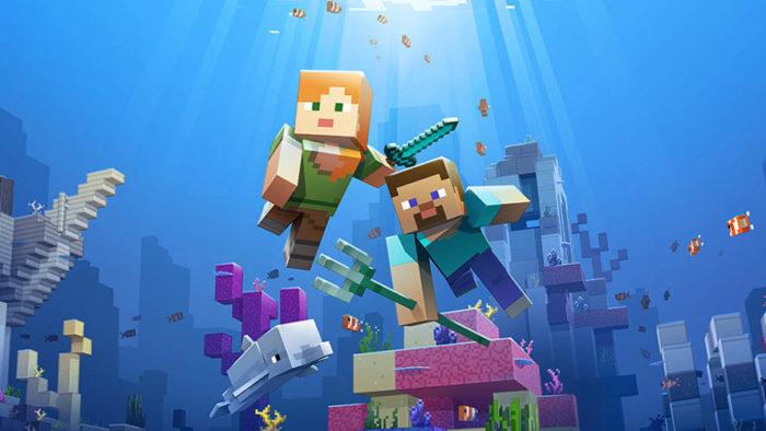 Minecraft, aquatic update, phase one