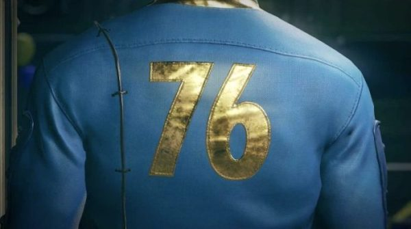 Fallout 76: Vault 76 Jumpsuit From Behind