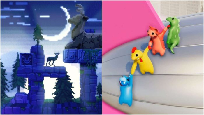 gang beasts, the deer god, ps plus, indies