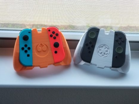 Rebel Alliance and Imperial Army Switch Joy-Con Grips