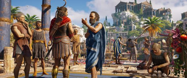 assassin's creed odyssey, co-op multiplayer in assassin's creed odyssey, get clothes, splitscreen local co-op multiplayer, get clothes