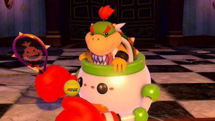Mario Tennis Aces Bowser Jr