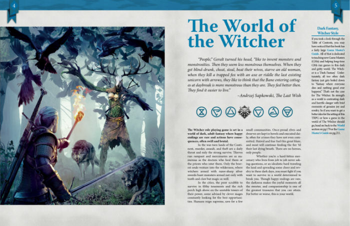 the witcher tabletop RPG
