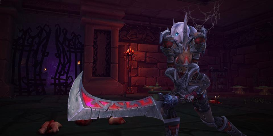 Best Tank Class in World of Warcraft: Battle for Azeroth - Blood Death Knight