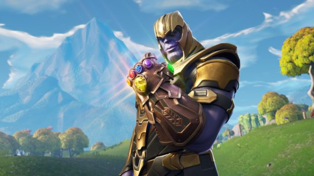 Thanos X Fortnite