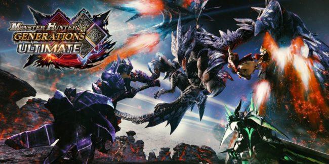 #1 - Monster Hunter Generations Ultimate