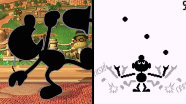 Mr. Game & Watch - Ball (Game & Watch, 1980)