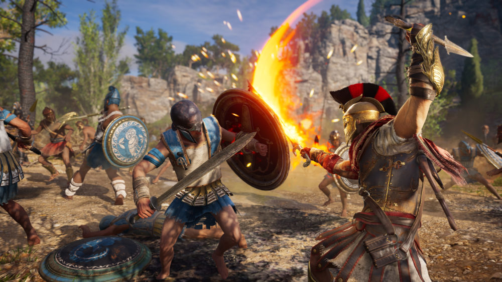 change difficulty, big battles, get more active abilities, assassin's creed odyssey, active abilities
