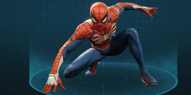 Advanced Suit - Spider-Man PS4 (2018)