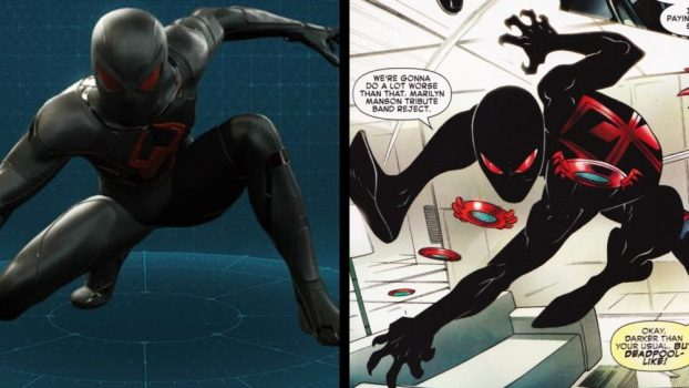 Dark Suit - Spider-Man/Deadpool Vol 1 #8 (2016)