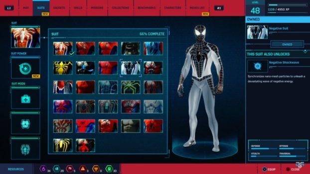10. Negative Suit