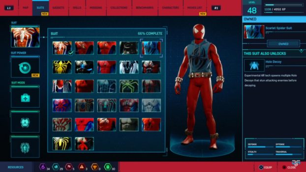 21. Scarlet Spider Suit