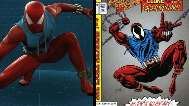Scarlet Spider Suit - Web of Spider-Man Vol 1 #118 (1994)