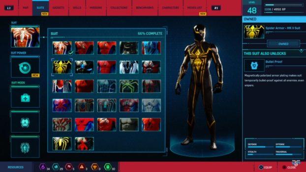 7. Spider Armor - MK II Suit