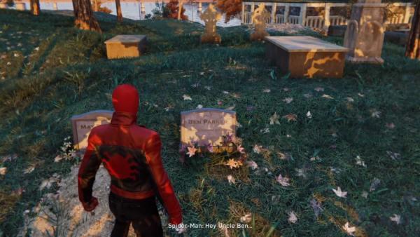 Spider-Man PS4, Uncle Ben's grave location