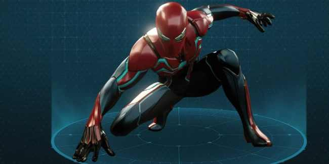 Velocity Suit - Spider-Man PS4 (2018)