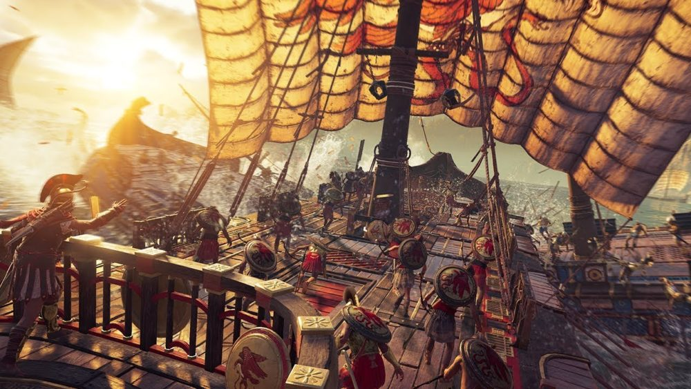 ps4 pro compatible, assassin's creed odyssey, how to recruit ship lieutenants, assassin's creed odyssey, ac odyssey, npcs, recruit