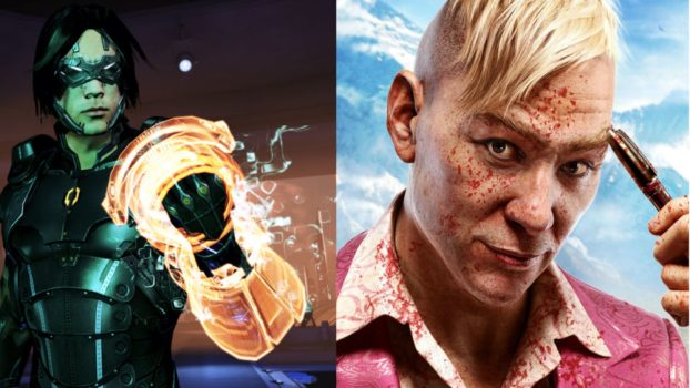 Troy Baker as Pagan Min (Far Cry 4) and Kai Leng (Mass Effect 3)