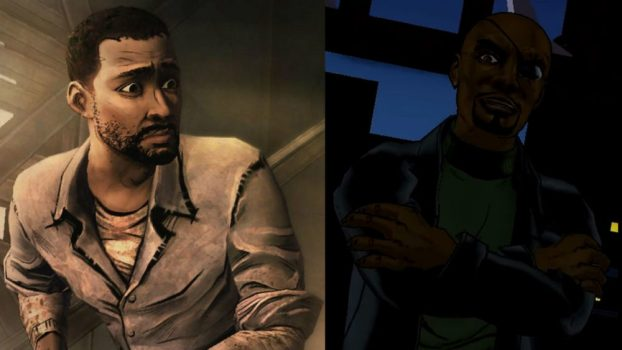 Dave Fennoy as Lee Everett (Telltale's The Walking Dead) and Nick Fury (Ultimate Spider-Man)