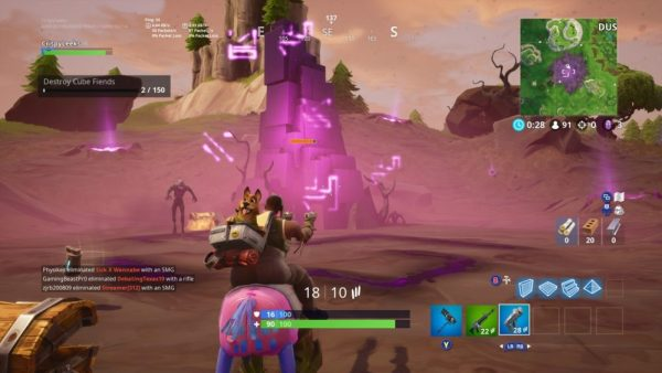 Fortnite Cube Fragments