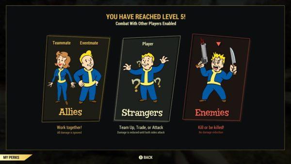 Fallout 76, PVP