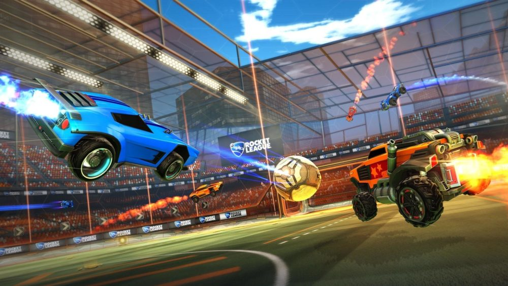 Rocket League, Cross-Play, crossplay, PS4, Xbox One, Switch, Multiplayer, Psyonix