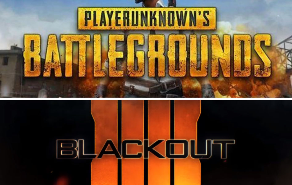 PUBG vs. Blackout, Logos