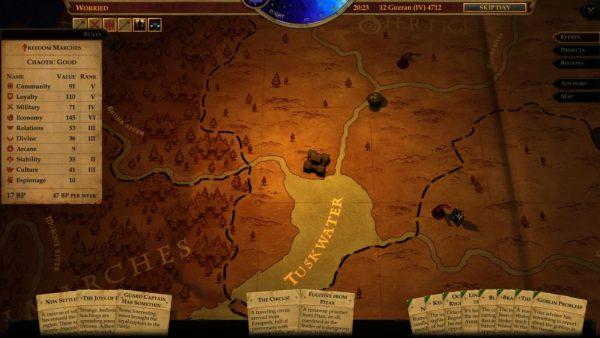 pathfinder: kingmaker kingdom management guide