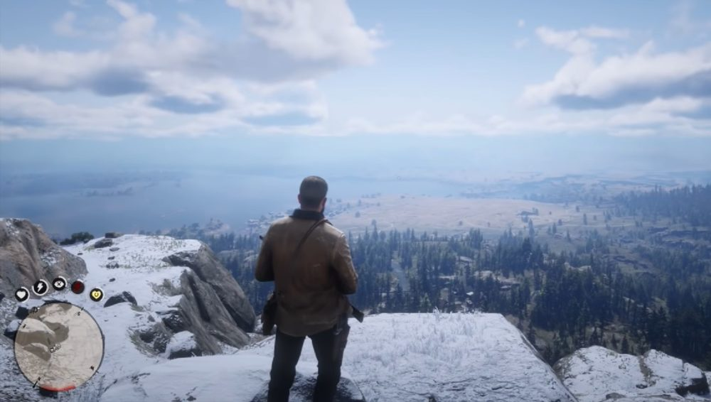 red dead redemption 2, where to find bigfoot
